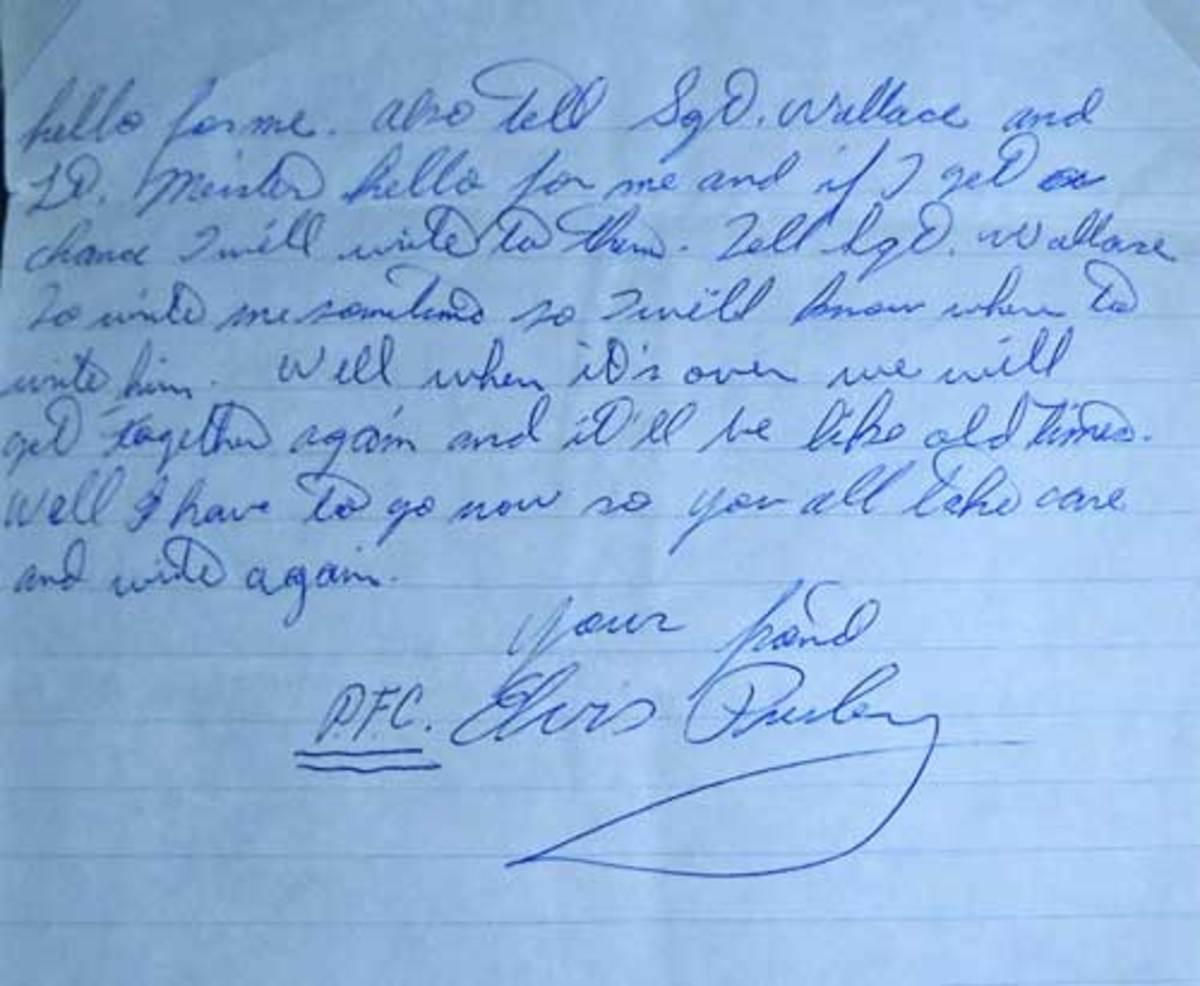 Elvis-Presley-signature