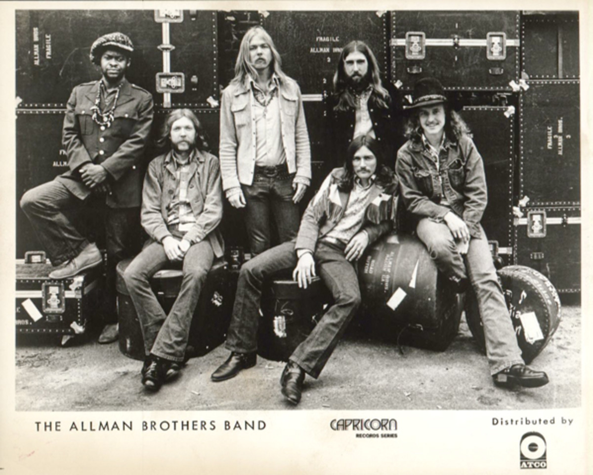Allman Brothers Band Fillmore publicity photo