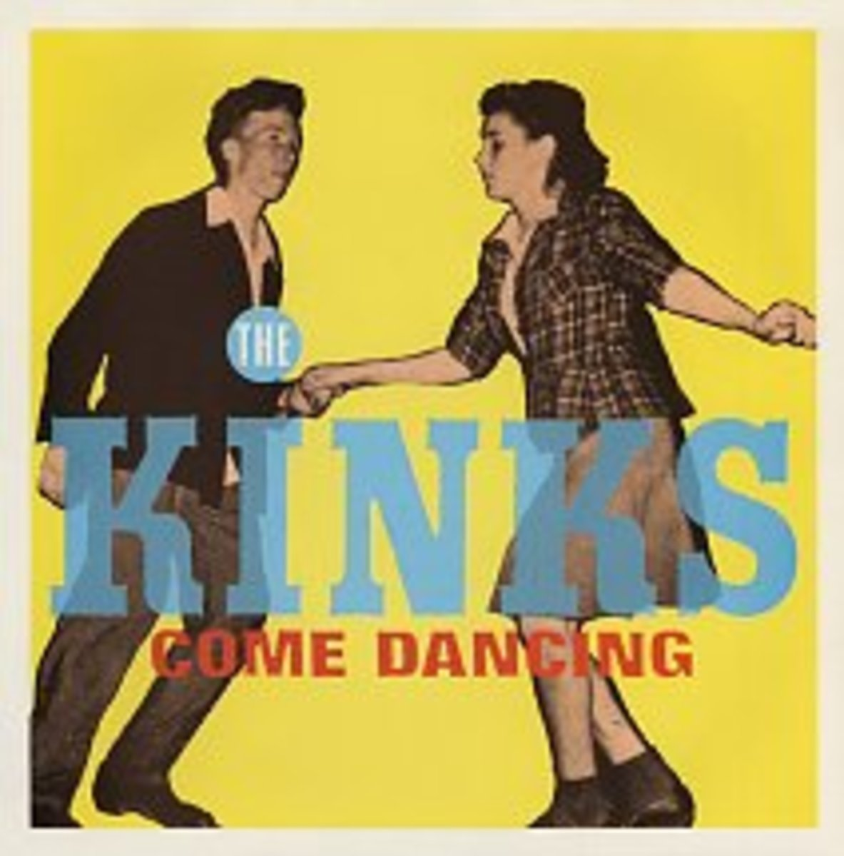 """The 1982 U.K. release of the """"Come Dancing"""" 7-inch (ARIST 502)."""