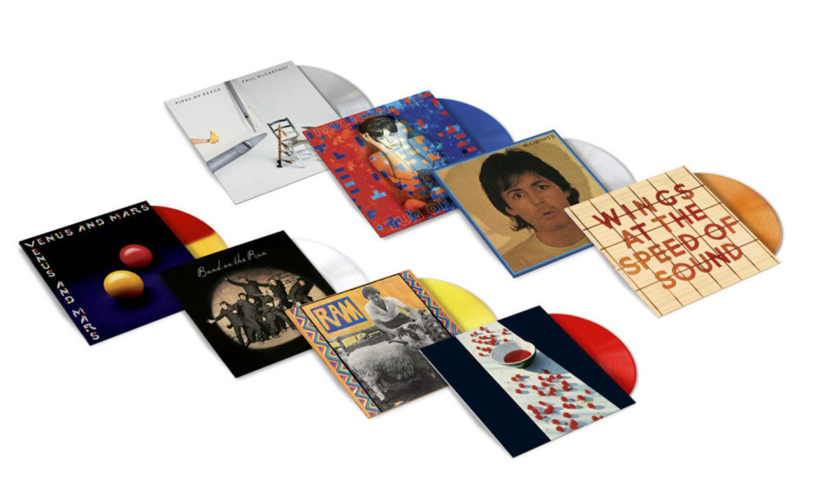 THE PAUL McCARTNEY ARCHIVE COLLECTIONPaul McCartney: McCartney, McCartney II, Tug Of War, Pipes Of PeacePaul and Linda McCartney: RamPaul McCartney and Wings: Band On The RunWings: Venus And Mars, At The Speed Of Sound (PRNewsfoto/Universal Music Enterprises)