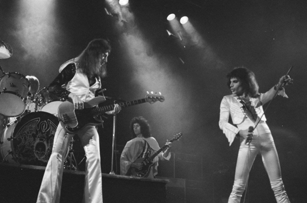 Queen: A Night in Bohemia, featuring a 1975 concert by Queen at London's Hammersmith Odeon, will be shown along with a documentary about Queen in theaters across America on March 8th. (Photo by Douglas Puddifoot)