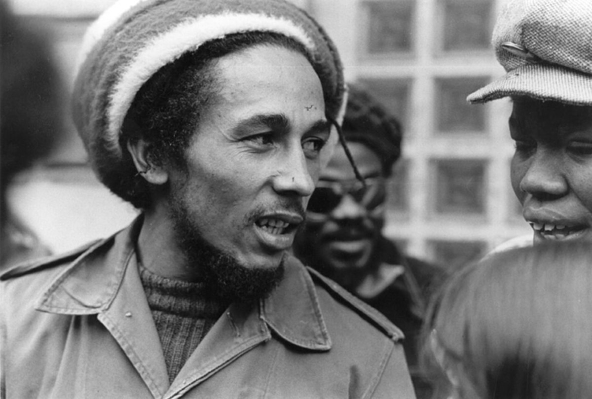 Bob Marley in London, June 1977. Evening Standard/Getty Images