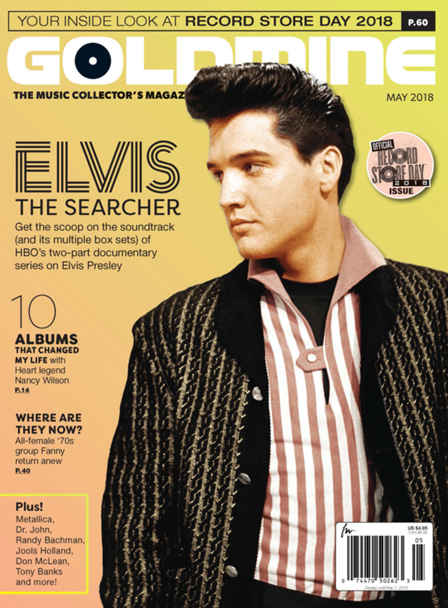Elvis: The Searcher on sale April 9 at Barnes & Noble and other stores.