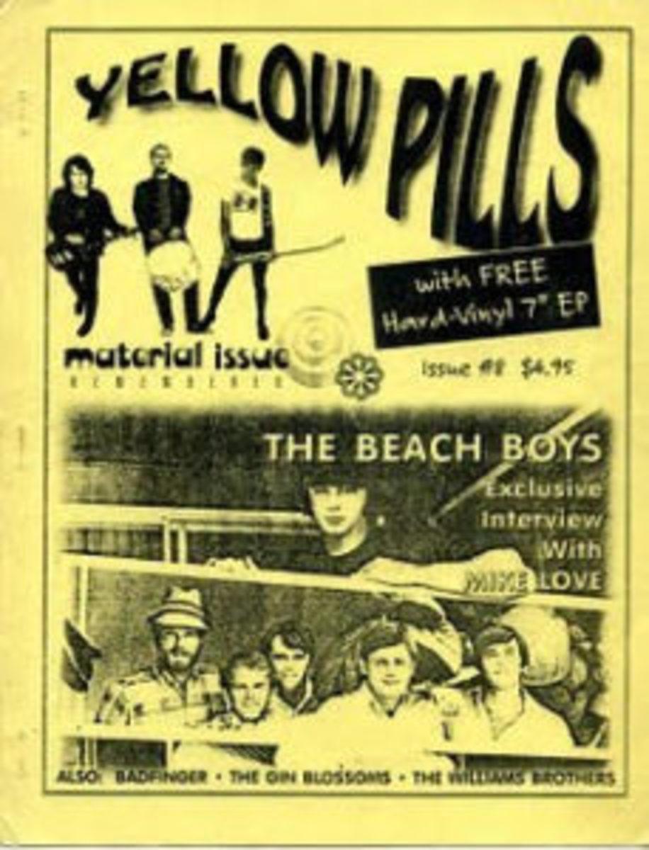 The original Yellow Pills magazine, Issue 8