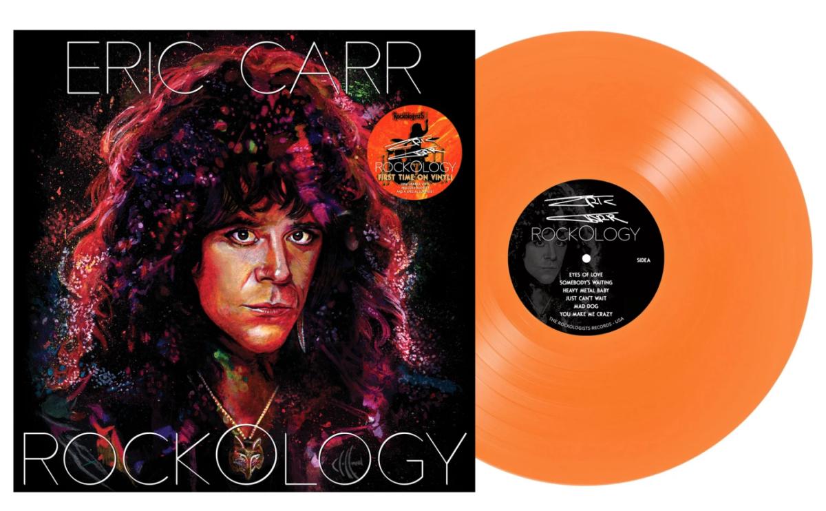 """Eric Carr - """"Rockology"""" LP - Standard Vinyl"""