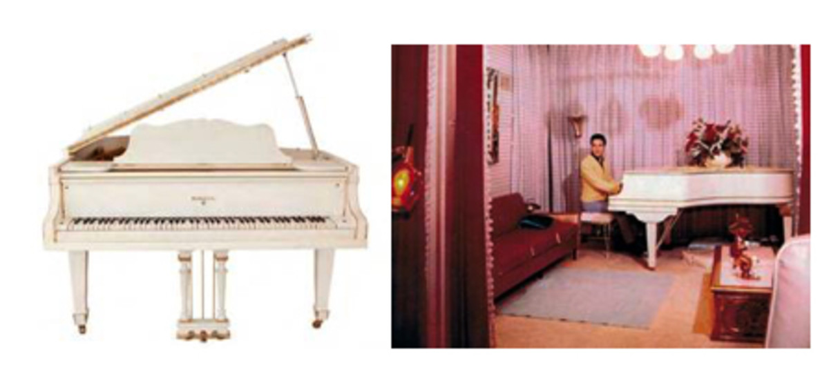 Elvis Piano Goes Up For Auction On Ebay Goldmine Magazine Record Collector Music Memorabilia