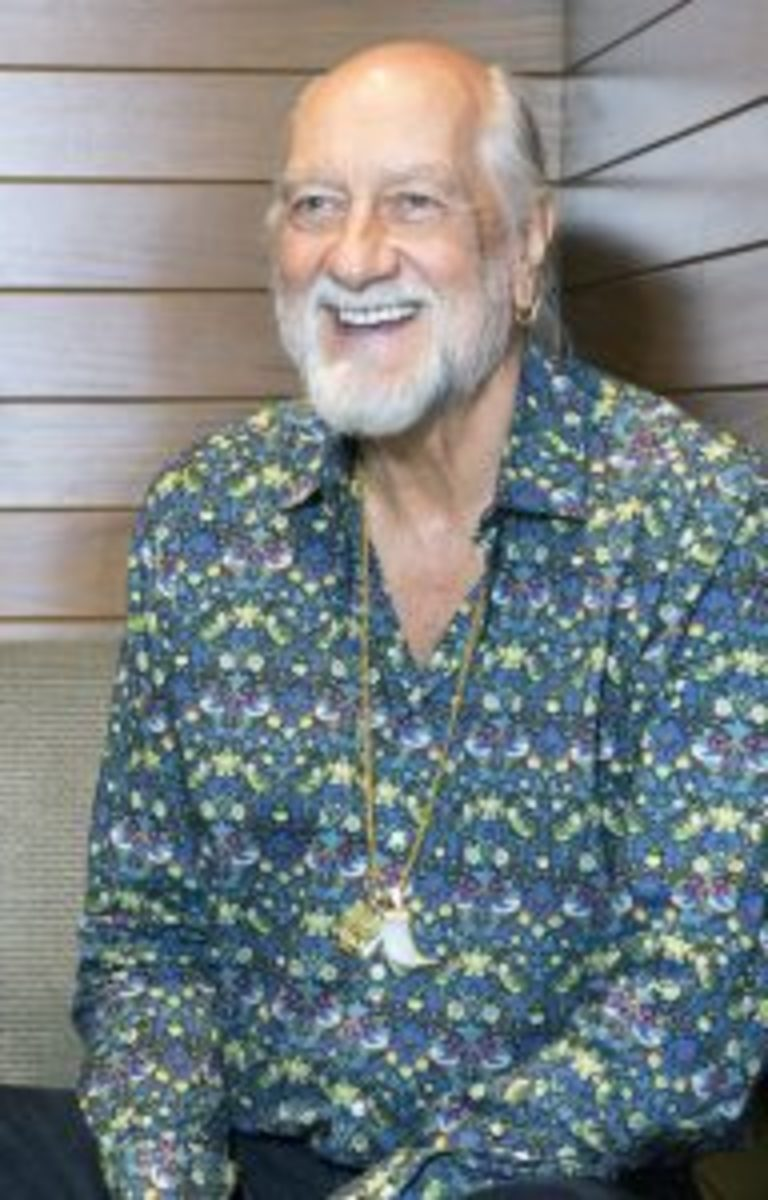 Mick Fleetwood, photographed at Austin's JW Marriott a few hours before his SXSW appearance. (Photo by Chris M. Junior)