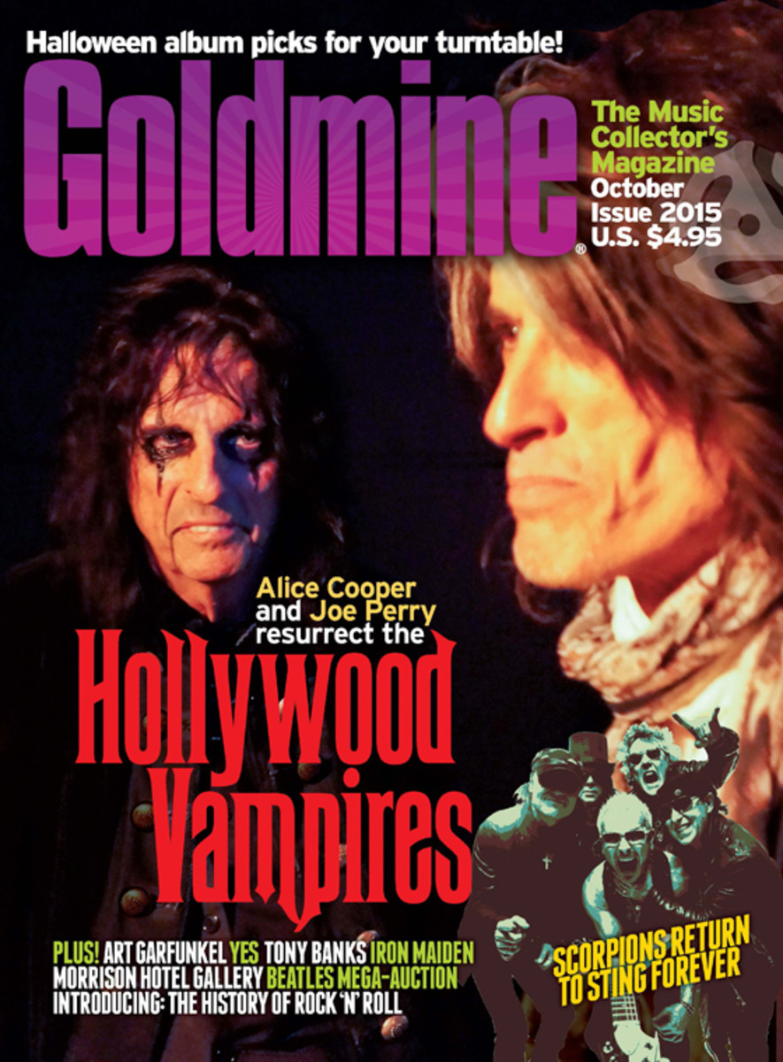 Goldmine's Hollywood Vampires cover. To buy this issue click here.
