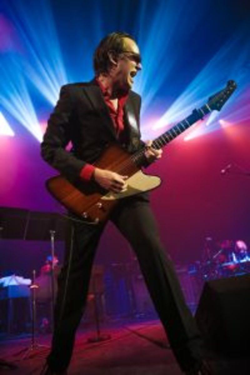 Joe Bonamassa on stage. Photo by Christie Goodwin