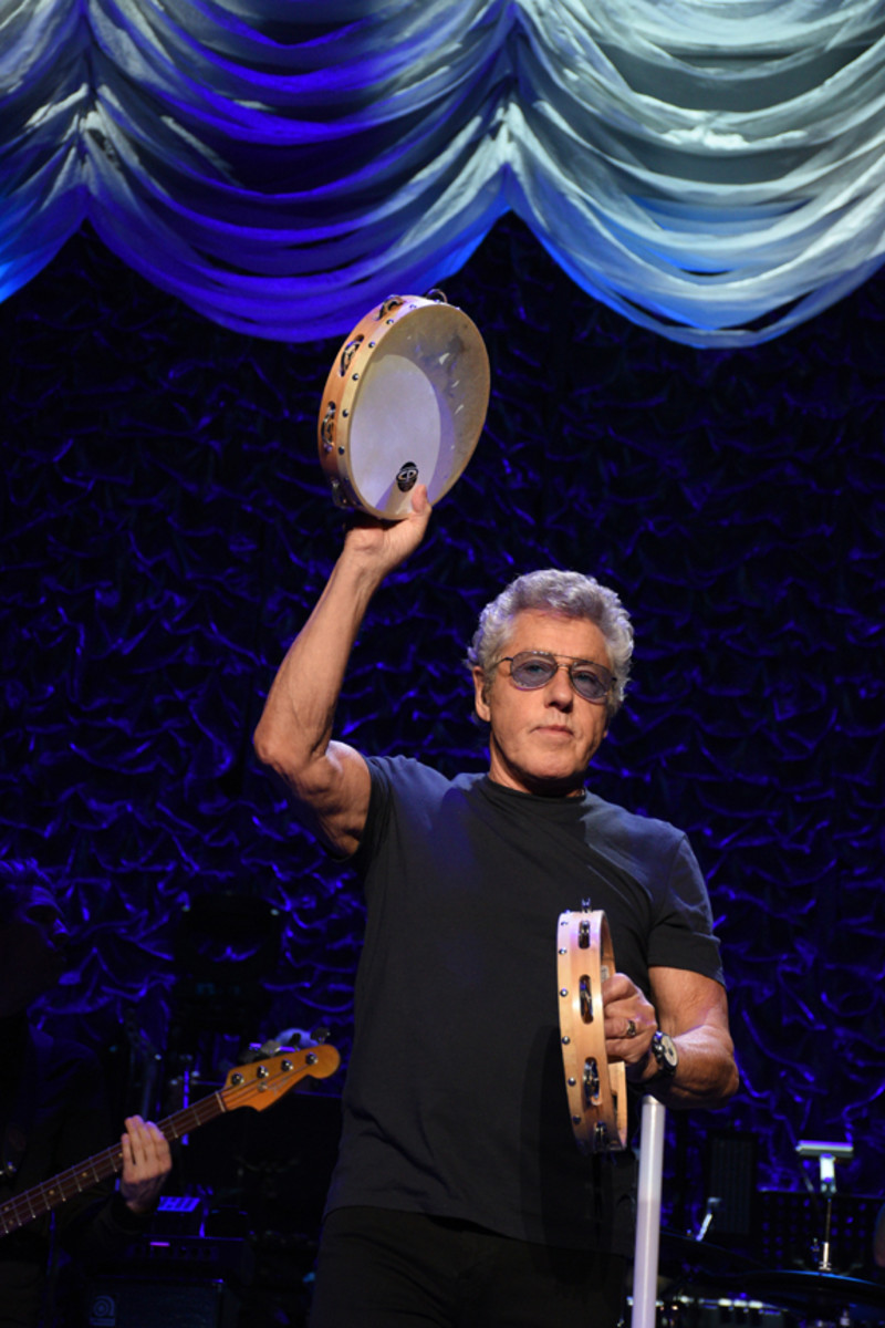 Roger Daltrey was in fine voice throughout The Who's May 13th concert at Madison Square Garden. (Photo by Frank White Photography)