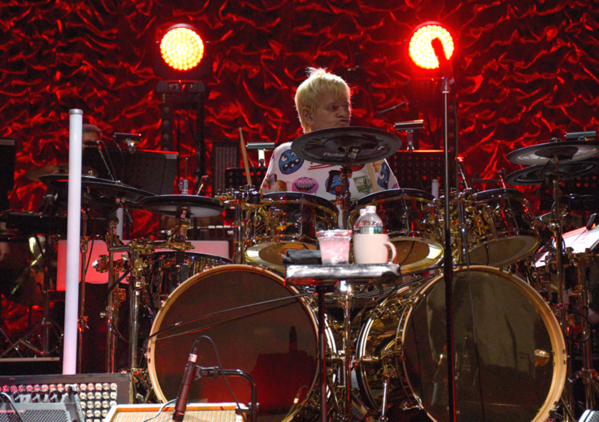 Zak Starkey's powerhouse drumming was just one of the highlights of The Who's Madison Square Garden show on Monday, May 13th. (Photo by Frank White Photography)