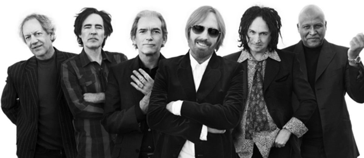 "Tom Petty first teamed up with producer Jeff Lynne for a solo album, ""Full Moon Fever."" Things went so well that when Petty went back to the studio with The Heartbreakers to record ""Into The Great Wide Open,"" he brought Lynne along for the ride, too. ""It was a bumpier road, because I think it was probably the only time he worked with a band, and I don't think he really likes it,"" Petty says. ""Dealing with the politics of a band just drives him nuts."" Publicity photo."