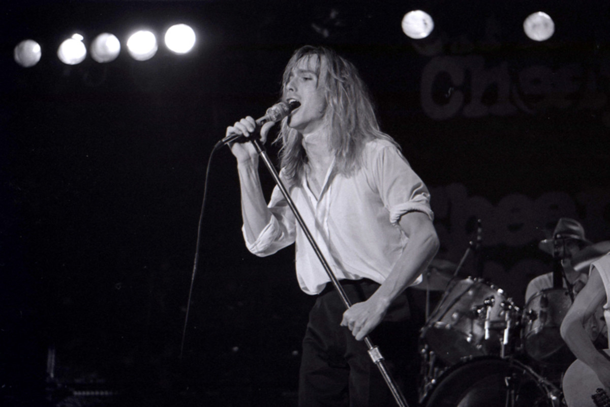 Robin Zander on stage with Cheap Trick on May 26, 1979, at the Convention Hall in Asbury Park, N.J. (Photo by John T. Comerford III/Frank White Photo Agency)