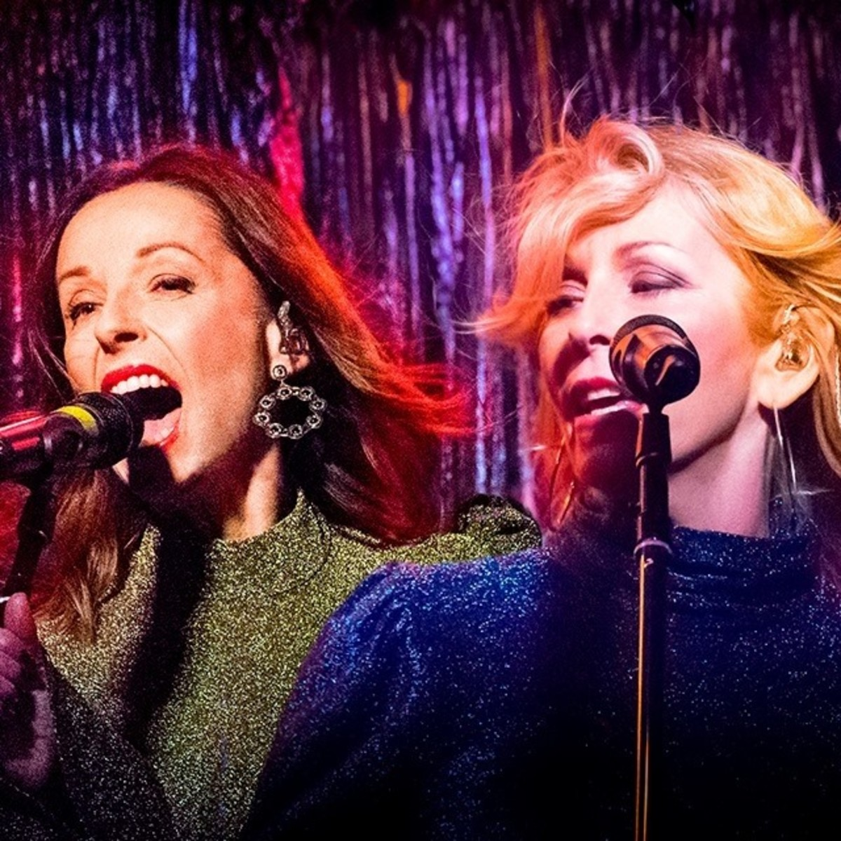 Bananarama original members Keren Woodward and Sara Dallin in 2019. Publicity Photo @TheBananarama.
