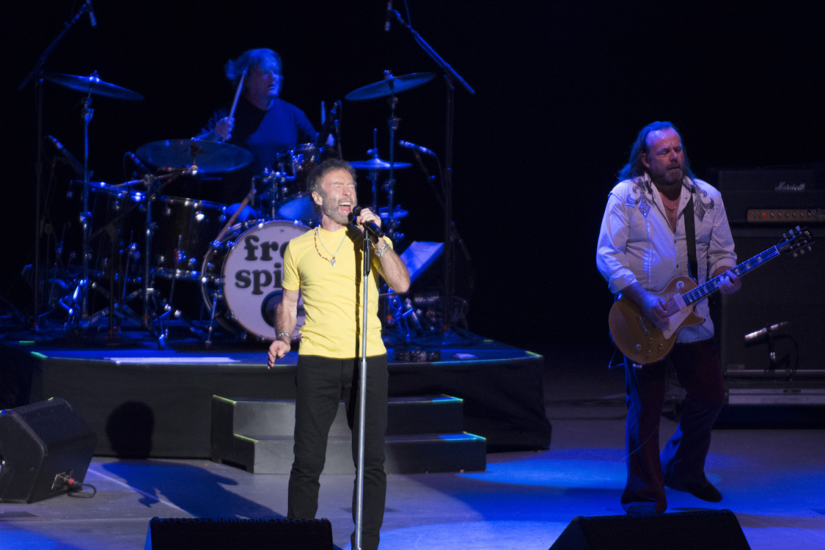 Singer Paul Rodgers during his headlining set Aug. 12 at the PNC Bank Arts Center in New Jersey. (Photo by Chris M. Junior)