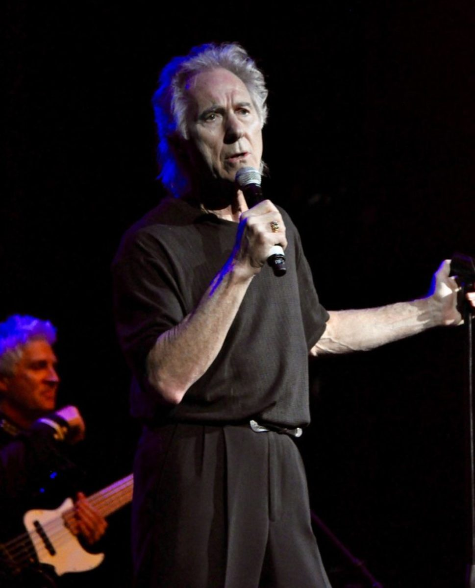 Gary Puckett and the Union Gap in Celebrity Theatre ofThe Flower Power Cruise on the Celebrity Infinity March 31, 2019 by Alisa B. Cherry.