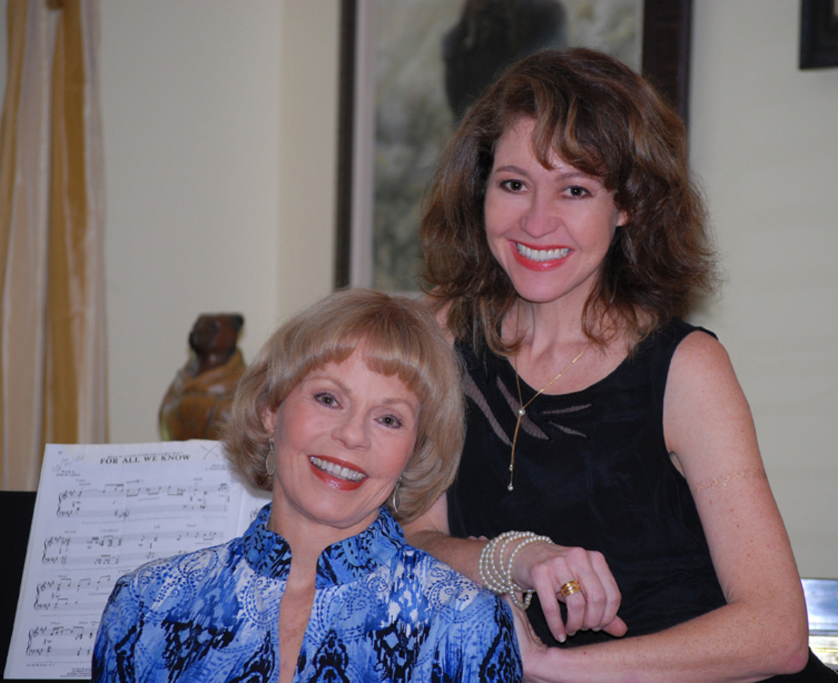 ALL IN THE FAMILY: Toni Tennille with her co-author and niece Caroline St. Clair. (Photo courtesy of Toni Tennille)