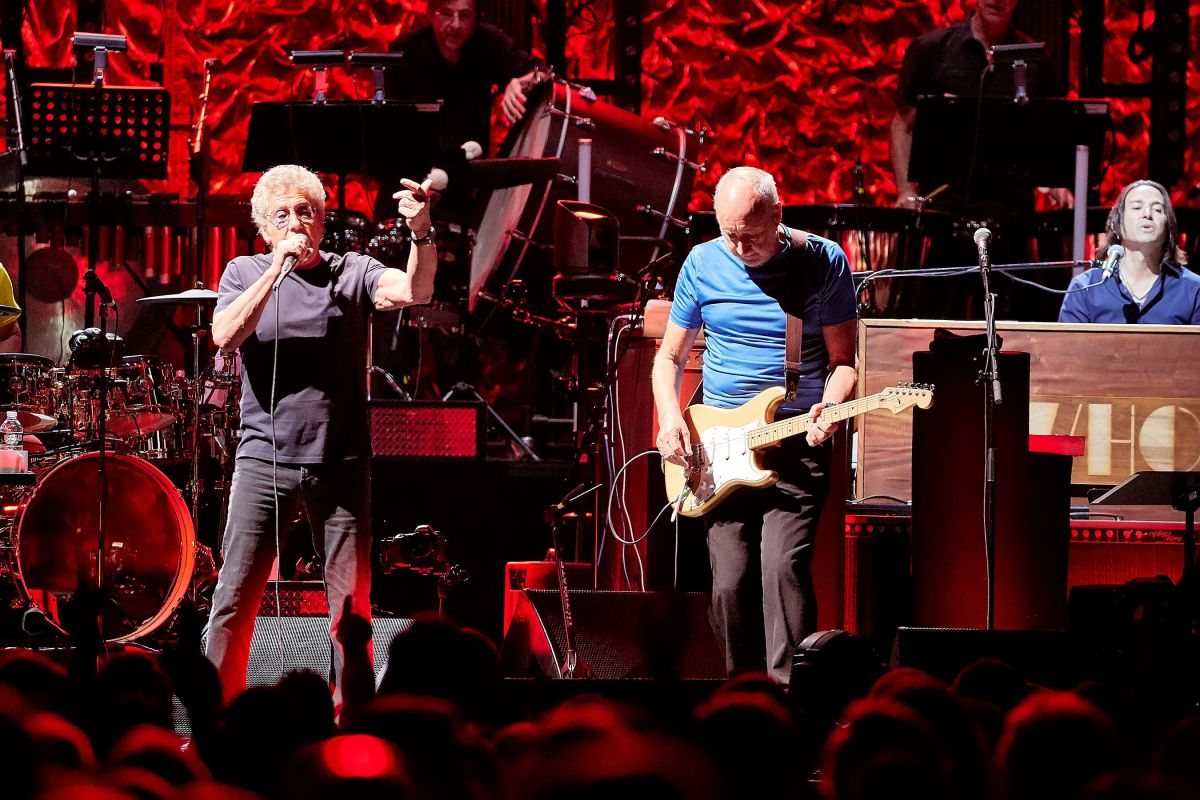 Roger Daltrey, 75, and Pete Townshend, 74, continue their music partnership that began in 1962 in a London-based band called The Detours. (Carl Scheffel/MSG Photos)