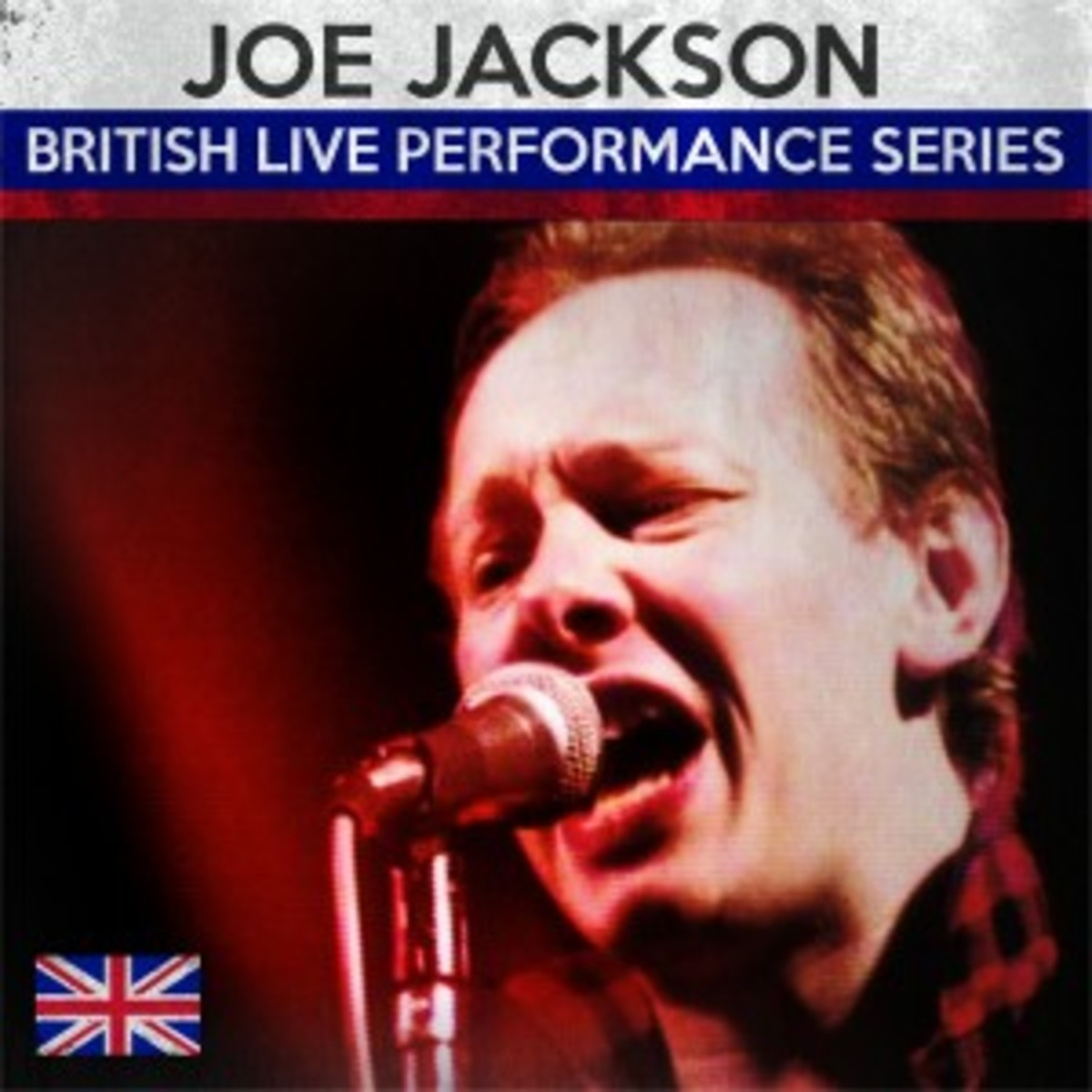 Joe Jackson -- British Live Performance Series CD cover