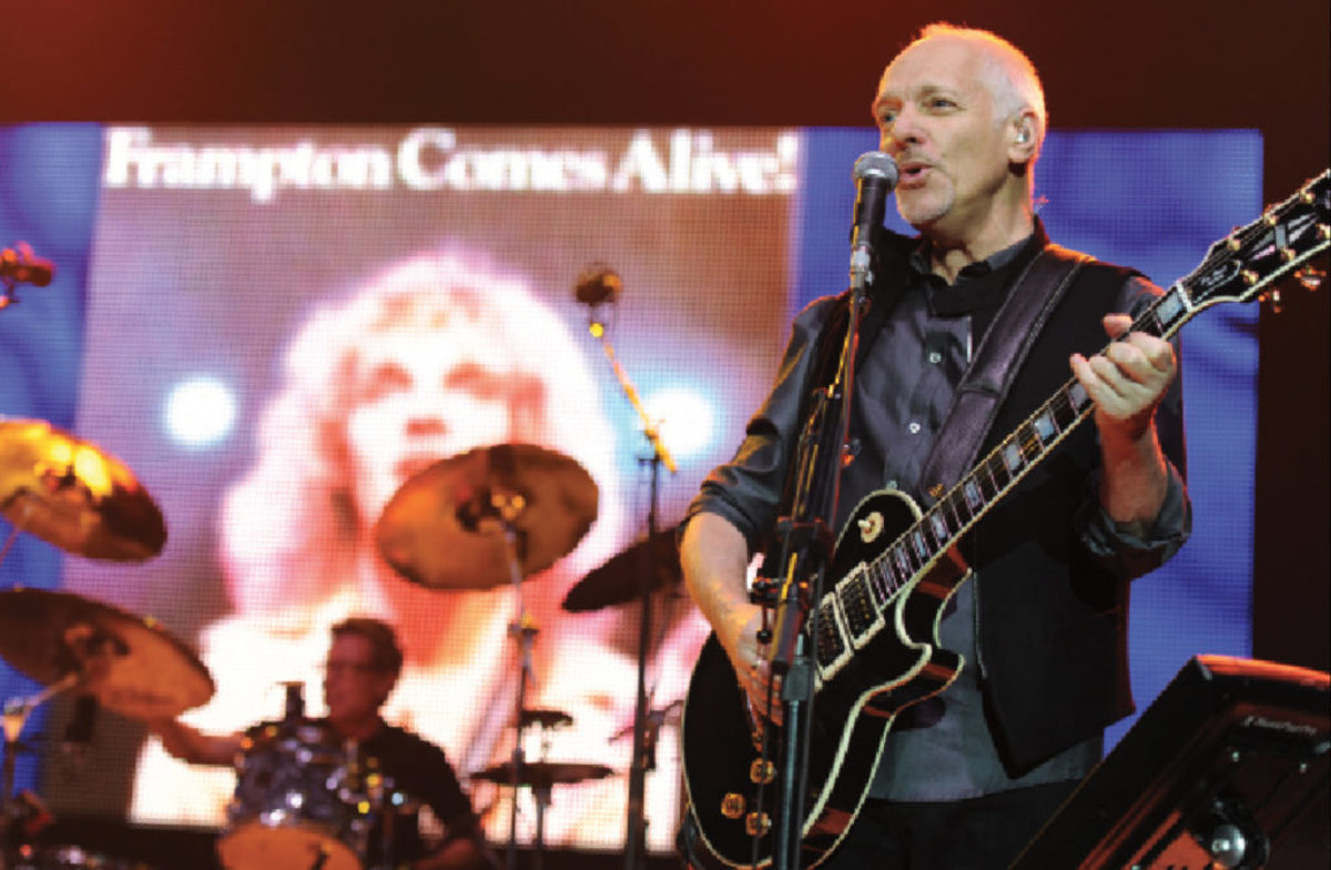 Frampton Comes Alive celebrated on stage. Larry Marano / Contributor / Getty Images Entertainment / Getty Images.