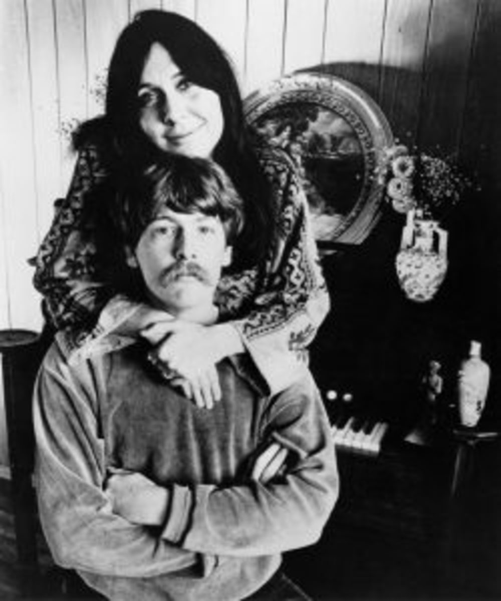 Judy Henske and Jerry Yester in an undated publicity photo.