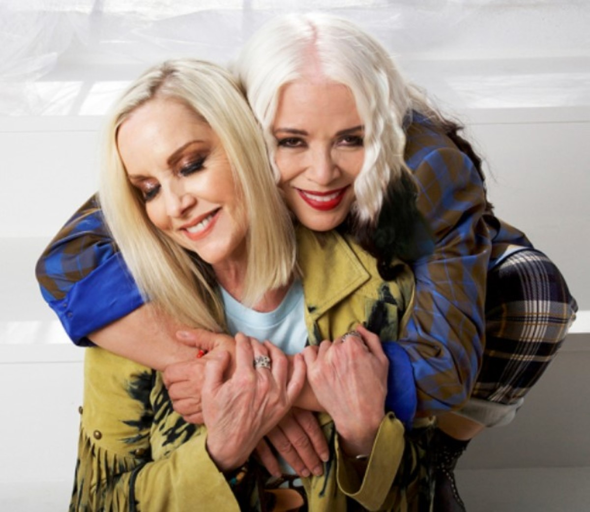 Cherie Currie, left, and Brie Darling, right, courtesy of Blue Elan Records.
