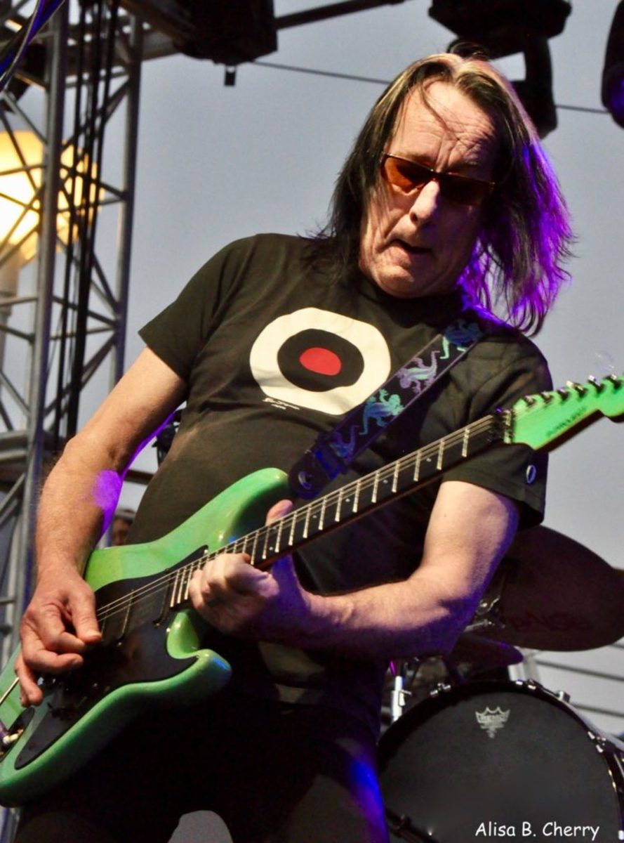 Todd Rundgren on the Pool Deck of Mariner of The Seas during On The Blue Cruise, February 11, 2019.
