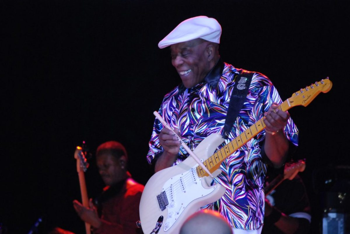 Buddy Guy has always puts on a vibrant live performance. Photo by Joe Curtis.