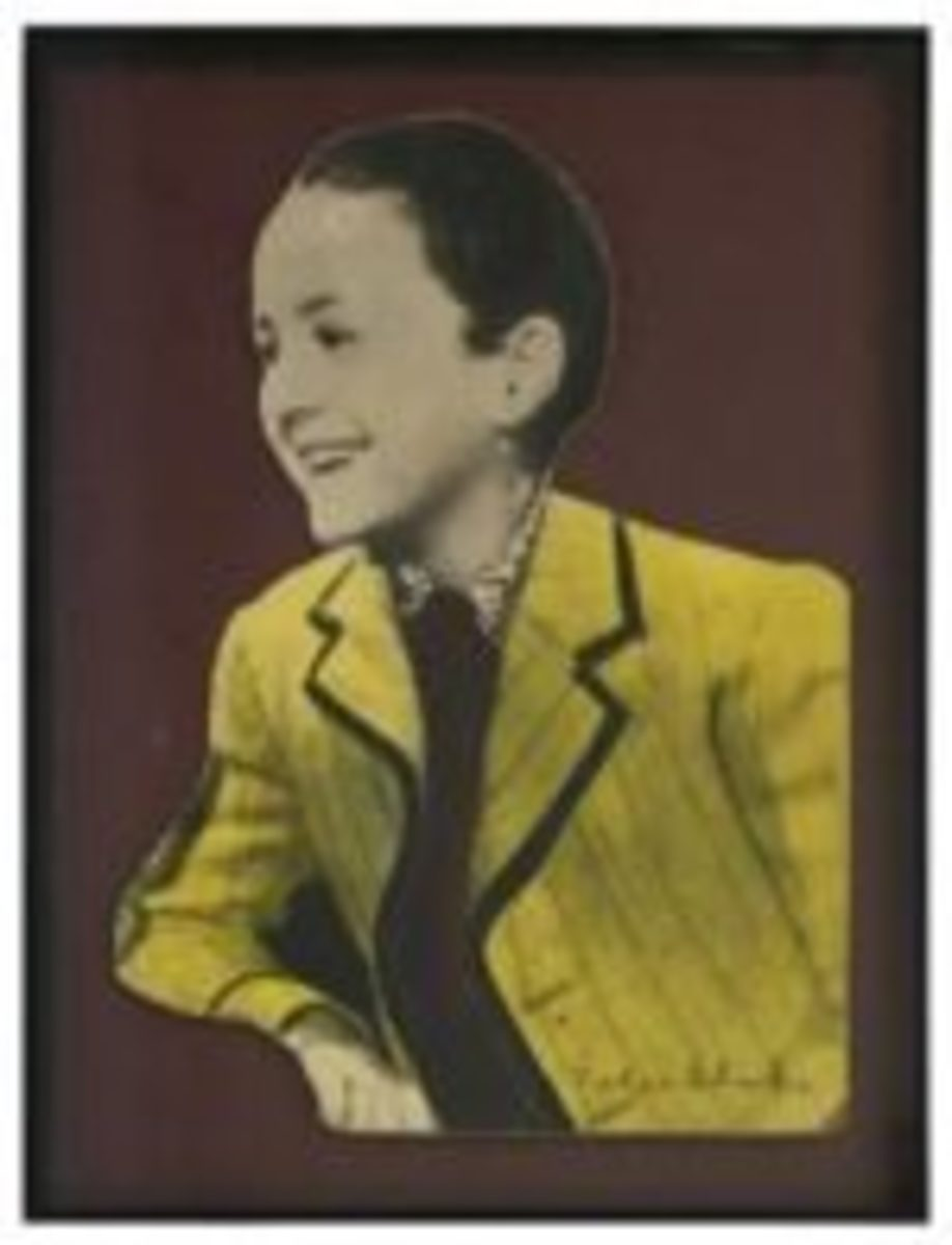 Peter Blake, A Rare Original Cutout of Child Star Bobby Breen from the Cover of Sgt. Pepper. Courtesy of Paddle8.