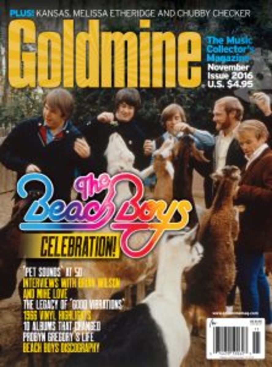 This Beach Boys article and many others were published in Goldmine's November issue, available by digital download by clicking here.