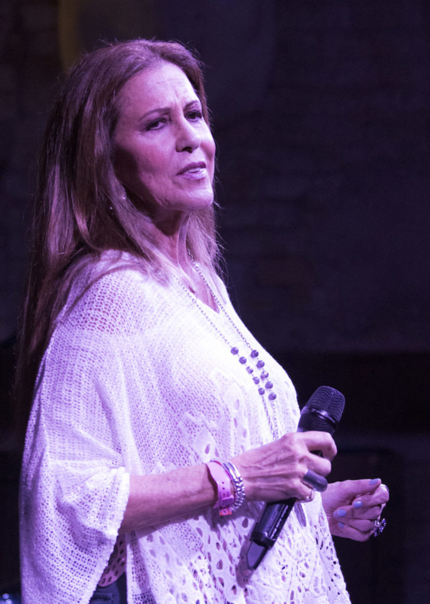 Rita Coolidge at Cooper's BBQ in Austin, Texas. (Photo by Chris M. Junior)
