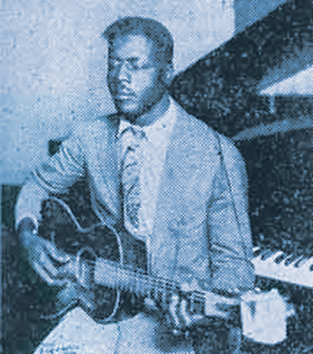 Blind Willie Johnson. Photo by Michael Ochs Archives/Getty Images.