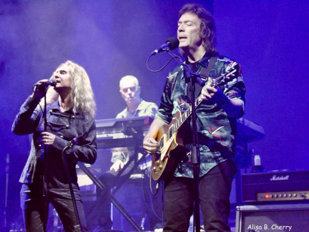 Steve Hackett in the Royal Theater of Mariner of The Seas during On The Blue Cruise, February 10, 2019.
