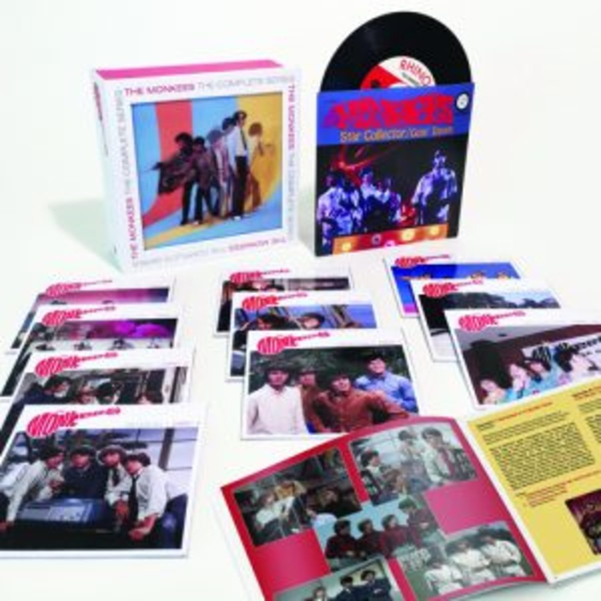 Monkees complete TV series box set.