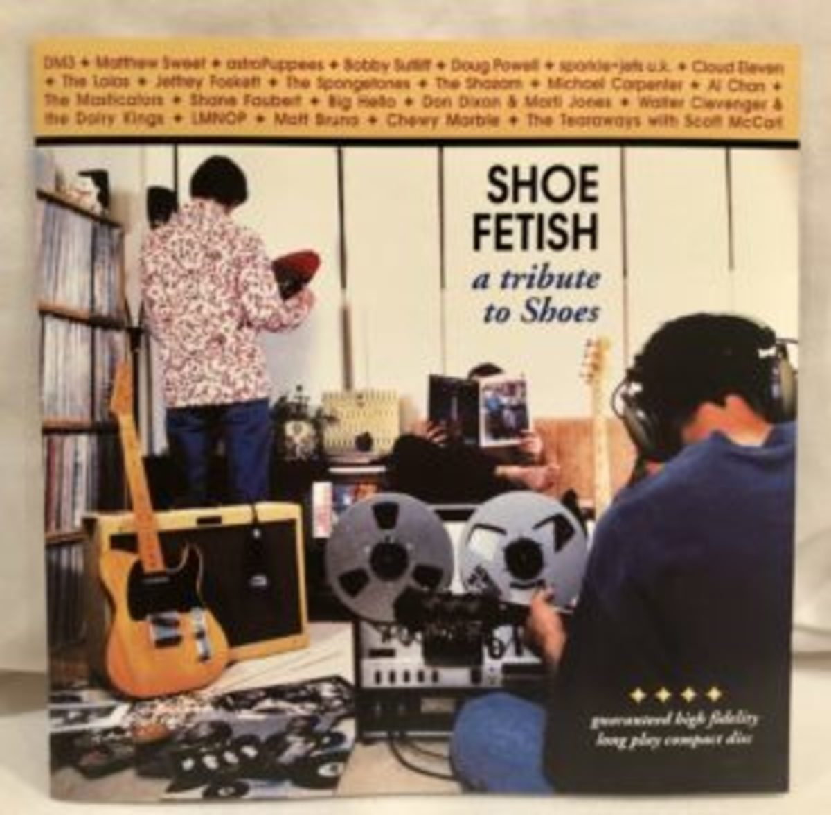 """Shoe Fetish: A Tribute to Shoes"" CD"