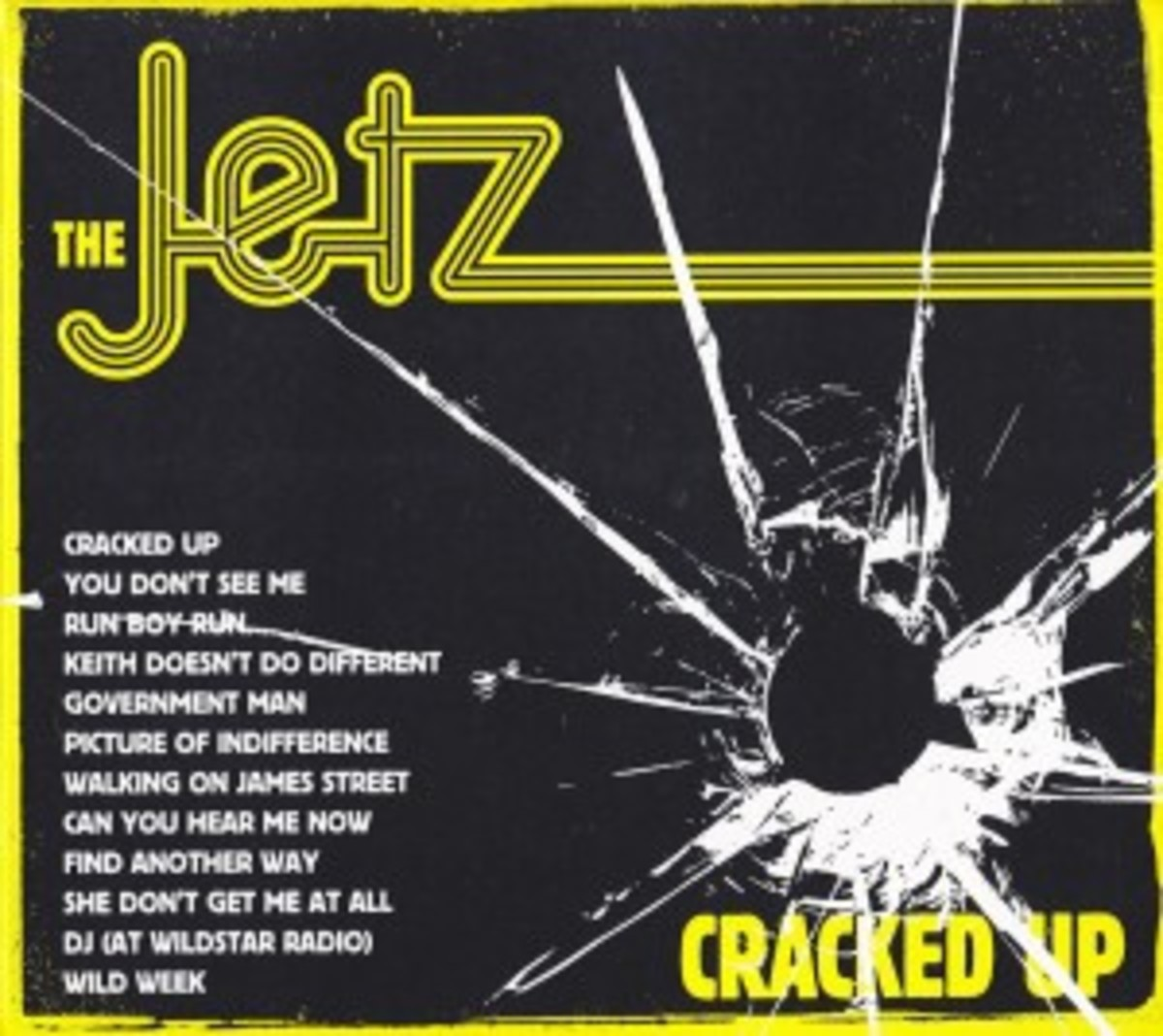 The Jetz - Cracked Up front1