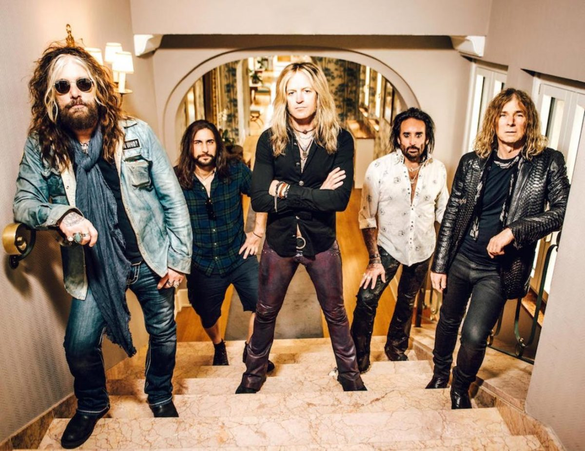 The Dead Daisies in 2016. Publicity photo.
