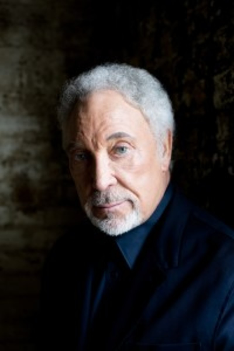 Tom Jones stays prolific into his '70s. Publicity photo.