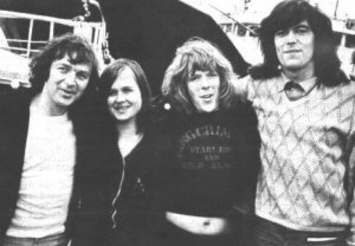 (l-r) Andy Archer, Samantha Dubois, Robb Eden and Peter Chicago