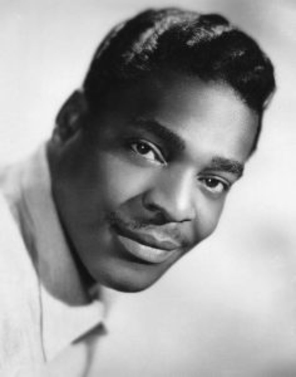 A 1959 publicity photo of Brook Benton