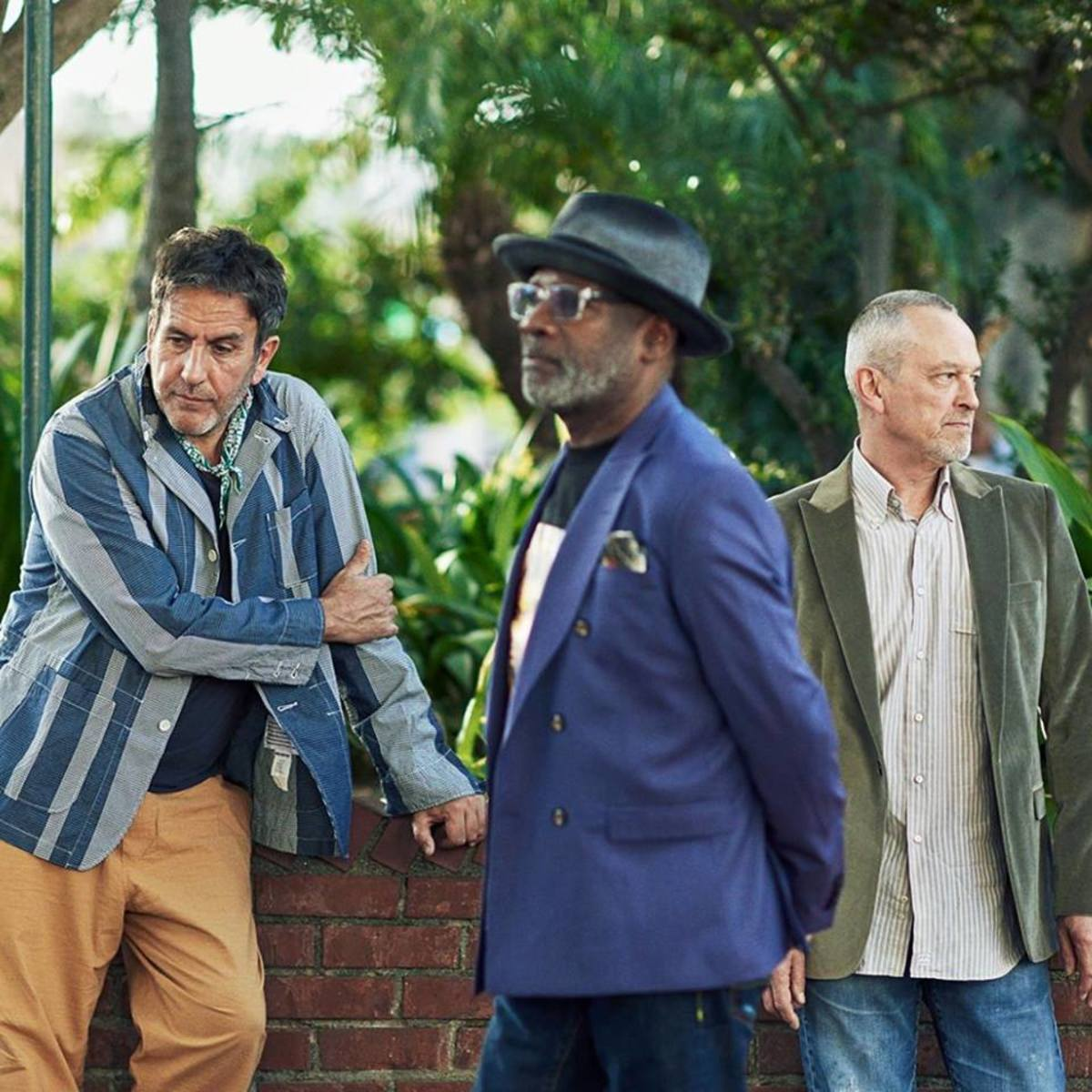 The three founding members of The Specials, (left to right) Terry Hall, Lynval Golding and Horace Panter, are currently touring in support of their new album, which is titled Encore. The tour hit Brooklyn Steel in Williamsburg, Brooklyn, New York on Friday, June 14th for a terrific and memorable show. (Photo by John Cheuse)