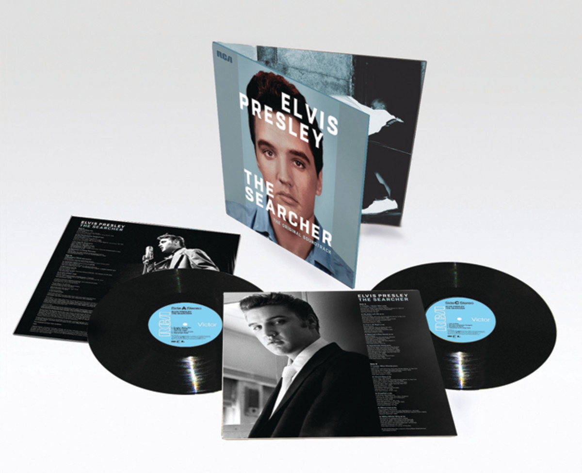 Elvis: The Searcher 2-LP set, (See below for track listing). Photo courtesy of Sony.