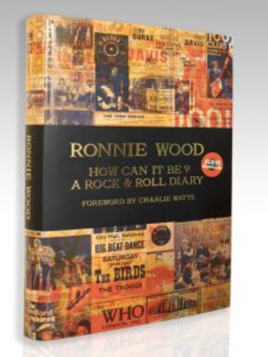 """The limited-edition hardcover book, """"How Can It Be? A Rock & Roll Diary,"""" which contains many extras."""