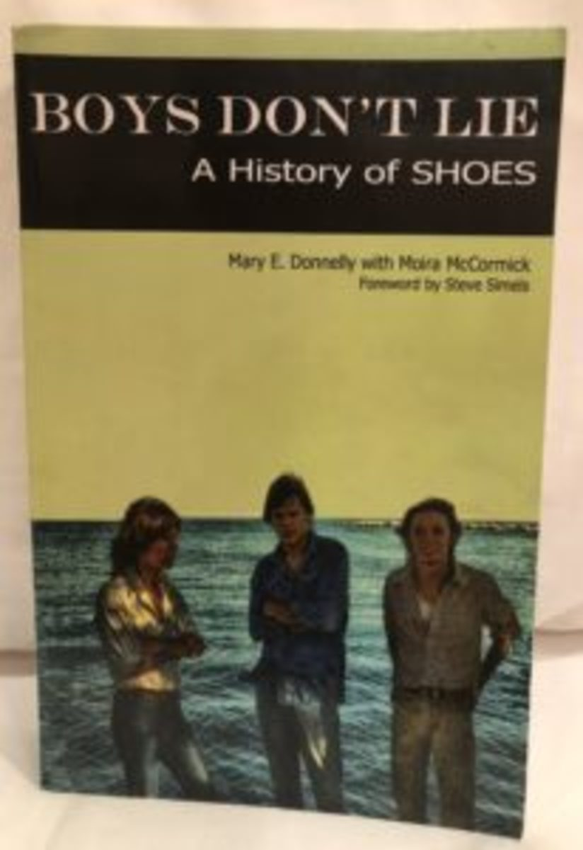 """Boys Don't Lie: A History of Shoes"" by Mary Donnelly and Moira McCormick"
