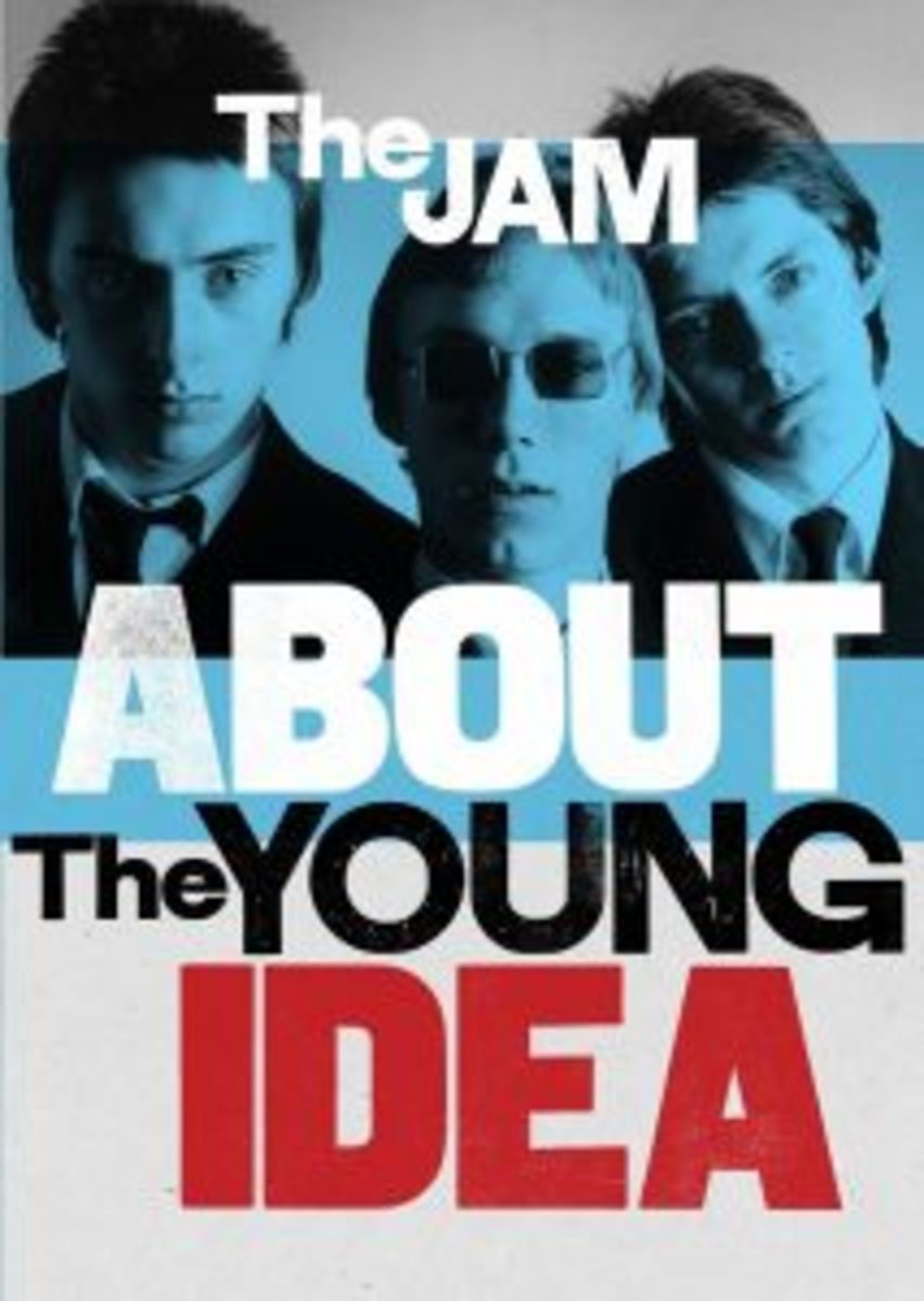 The Jam -- About The Young Idea DVD cover