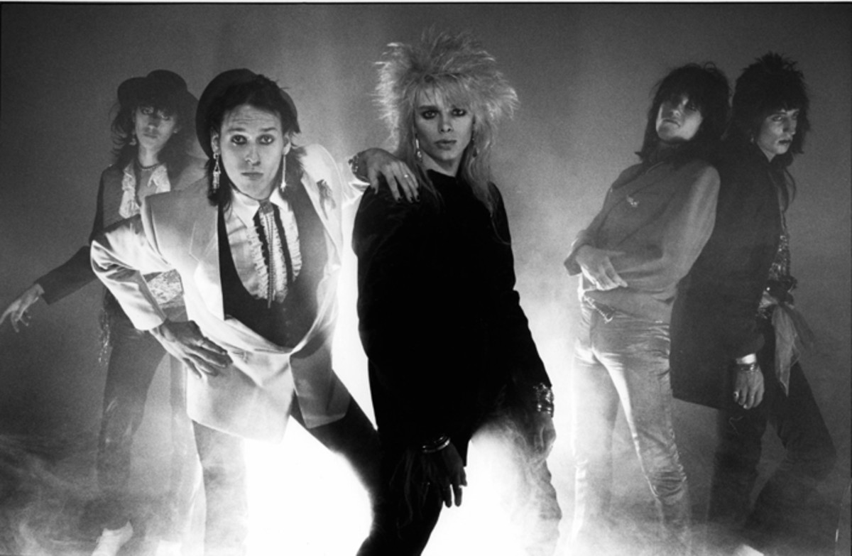 Hanoi Rocks: the band had so much hope of being the next big thing during the '80s.Photo by Fin Costello/Redferns)