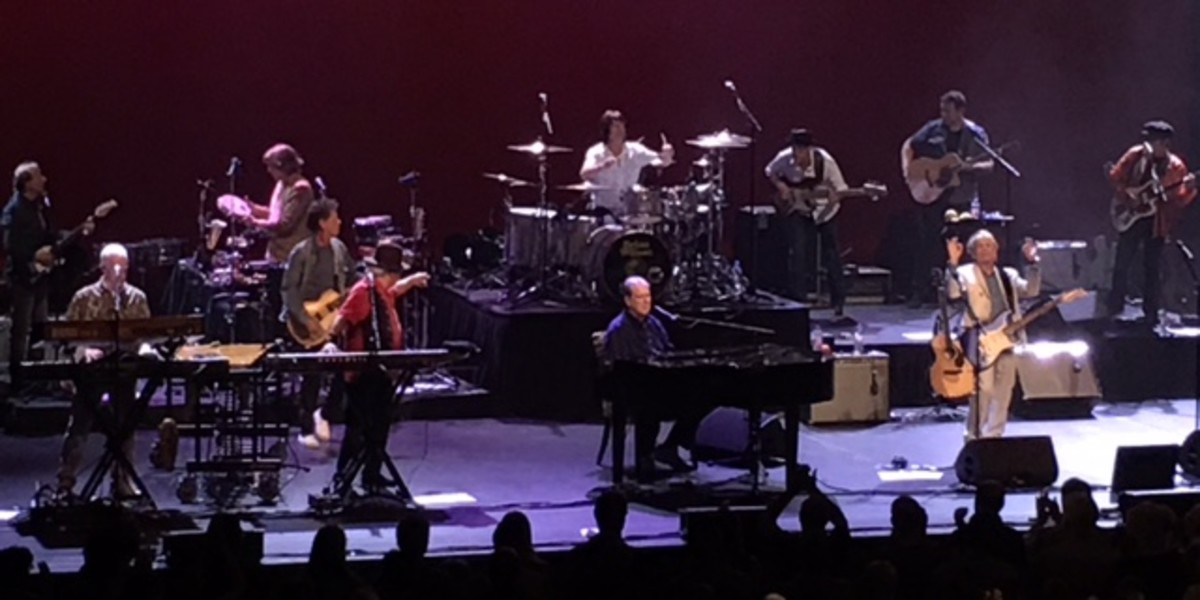 "Brian Wilson & friends performing ""Pet Sounds"" at MJF."