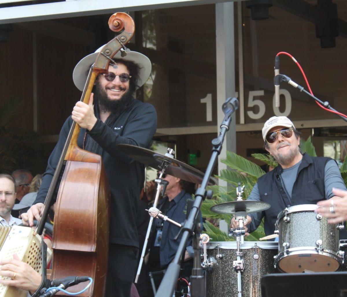 Don Was (left) and Jim Keltner