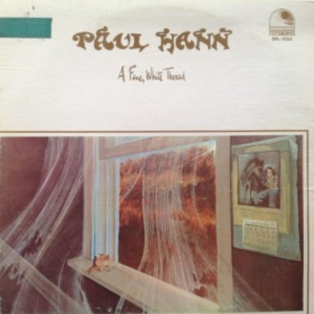 Stony Plain's first release was an album by Paul Hann.
