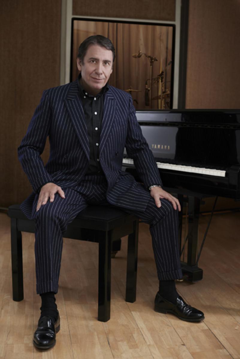 Jools Holland at the piano. Photo by Mary McCartney, courtesy of publicity.
